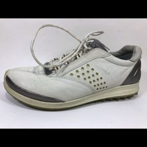 Ecco Biom Yak Leather Golf Shoes 36 E-DTS